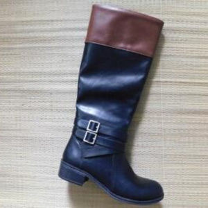 Arizona Black / Brown Rider Boots NWOT